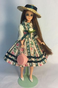 Vintage Topper Dawn Doll Dancing Longlocks/P17 In Vintage Clone Fashion