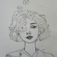 art sketches art sketchbook Image shared by . Find images and videos about girl, cute and beautiful on We Heart It - the app to get lost in what you love. Pencil Art Drawings, Art Drawings Sketches, Cute Drawings, Drawing Faces, Cute Love Sketches, Drawings About Love, Cute People Drawings, Sketches Of Girls, Cute Girl Drawing