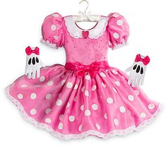 Halloween Costumes Women - Disney Minnie Mouse Costume for Kids - Pink Size -- You can find more details by visiting the image link. (This is an affiliate link) Minnie Mouse Costume Kids, Mini Mouse Costume, Disfraz Minnie Mouse, Minnie Mouse Halloween Costume, Mickey Mouse, Pink Costume, Costume Shop, Costume Dress, Cute Costumes