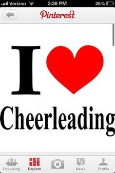 I love cheer too!!!❤
