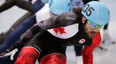 Chris Hamelin wins gold in 1,500m short track