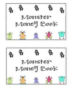 math, monster mad, monster money, teach money, coin, money freebi, class, educ, money book
