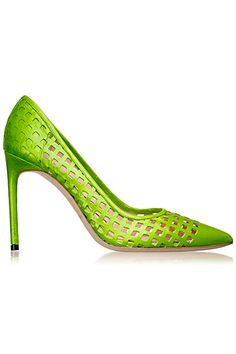 pinterest.com/fra411 #shoes #heels Reed Krakoff - Accessories - 2014 Spring-Summer Verde Wine, Heeled Boots, Shoe Boots, Reed Krakoff, Hot Heels, Red Bottoms, Shoe Closet, Beautiful Shoes, Designer Shoes