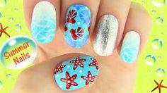 Sara beauty corner summer nail art