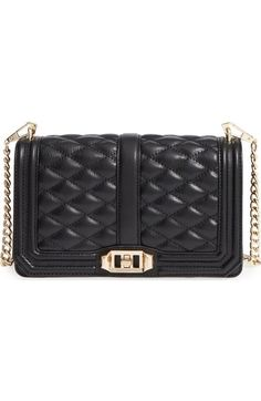 8f6875e9cea663 Rebecca Minkoff 'Love' Crossbody Bag available at #Nordstrom - either black  or gold