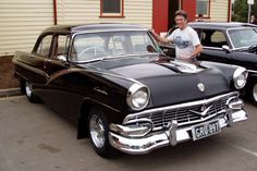 """'57 Ford...add glass pks. and you had, as some would say, a """"bad-ass ride."""""""