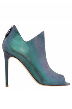 Irridescent bootie! Alejandro Ingelmo Andrea Boot, $725, available at Alejandro Ingelmo.