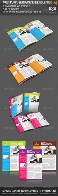 Speech Therapy Education Newsletter Template Design StockLayouts - newsletter templates word 2007