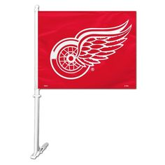 Detroit Red Wings Flag Car Style Special Order