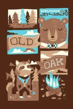 how cute would this print be in a lil boys room