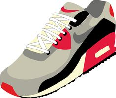 illustration, nike, air max, nike air max, nike air max 90, shoes, trainers, sneakers