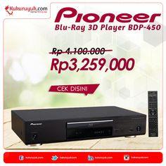 Halo, Kuku Mania, dapatkan diskon 20% untuk produk Pioneer Blu-Ray 3D Player BDP-450 - Grade A!  Yuk, cek di sini: http://kukuruyuk.com/turun-harga/pioneer-blu-ray-3d-player-bdp-450-grade-a :)  #PromoJago