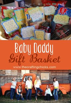 Gift Basket Idea for Dad