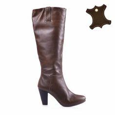 Промо Кожа :: Дамски обувки от естествена кожа Heeled Boots, Heels, Fashion, High Heel Boots, Heel, Moda, Heel Boots, Fashion Styles, Boots