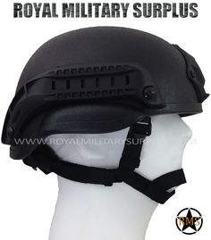 Helmet - MICH TC-2000 - BLACK (Black Tactical) - 109.95$ (CAD) - BLACK (Black Tactical) MICH (Modular Integrated Communication Helmet) TC-2000 Standard Integrated System Army/Military/Commando/Special Forces Design NVG Mount & Tactical ARC Side Rails 4-Points Retention Chinstrap System Cushions/Pads Adjustement System (Inside) 100% Fiberglass (High Impact Protection) Velcro Panels System Included (Gear & Patch) Full Size Replica http://royalmilitarysurplus.com/Helmets-Helmet-Covers_c8.htm