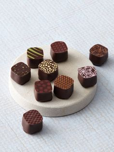 Petits Richart chocolates look (almost) too good to eat
