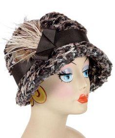 01b45e5182a Grace Cloche Style Hat - Luxury Faux Fur in Calico