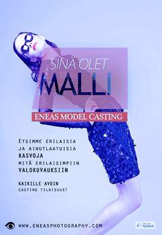 SINÄ OLET MALLI 5.10. - kaikille avoin casting tilaisuus! Malta, It Cast, Movies, Movie Posters, Malt Beer, Films, Film Poster, Cinema, Movie