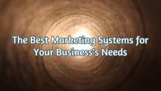 "The Best Marketing Systems for Your Business Needs.   In the US, it used to take about 5-7 ""touches"" with a potential customer to close a sale. However, NOW most businesses find it takes between 9 to 11 ""touches""! Wow.  (We'll talk more about what the heck a touch is and how to do them. I promise.)"