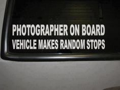 Or in my dads case swerves and tries to take pictures while driving