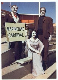 Image result for the munsters marineland of the pacific add