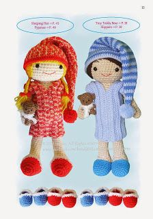 The Dress Up Dolls Crochet Pattern Book is out :)