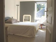 Chambres adultes on pinterest headboards taupe and bedrooms - Chambre mur taupe ...