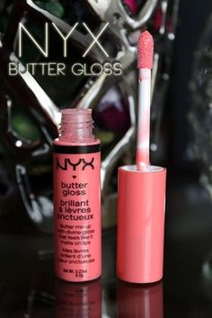 NYX Butter Gloss in Apple Strudel - this is the color I got. Peachy pink so nice for summer. Love that we got these. Very cute and great formula. Plus smells like cake!