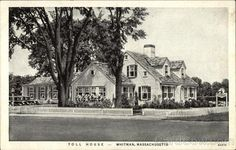 Fine Art Print-Toll House Inn Restaurant, Whitman, Massachusetts, Fine Art Print on Paper made in the UK Toll House, House Built, Old Photos, Vintage Photos, Back Home, New England, North America, Cool Pictures, Online Printing