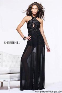 Sherri Hill Dress 1614 at Peaches Boutique