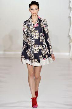 kinder aggugini, spring 2012 rtw. beautiful jacket!!!