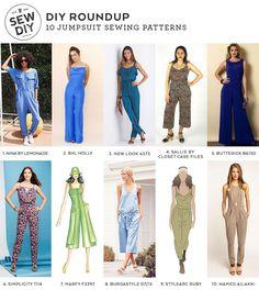 DIY Roundup –10 Jumpsuit Sewing Patterns — Sew DIY