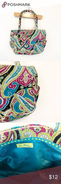 Vera Bradley Mini Bag Purse Purple Blue Green Perfect learner bag for your little one. Definitely has some wear. Good item to use to qualify for the insane bundle discount. 😉 Vera Bradley Accessories Bags