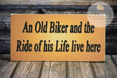 An Old Biker And The Ride Of His Life Live by 2ChicksAndABasket, $12.45