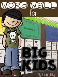 Word Walls For Upper Elementary