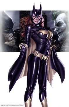 Amazing Batgirl although her breasts look like super implants for the super-heroine on the go! Comic Book Characters, Comic Book Heroes, Comic Character, Comic Books Art, Comic Art, Fictional Characters, Arte Dc Comics, Dc Comics Art, Heros Comics