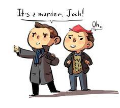 Tyler and Josh as Sherlock and John