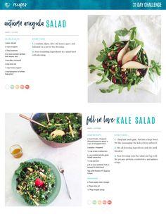 TIU Fall Salads