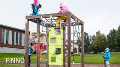 Lappset Group Oy is one of the leading manufacturers of playground equipment worldwide.