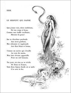 """Baudelaire """" Le serpent qui danse """""""
