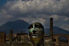 Michele Simeoni photography.Mitoraj at Pompeii