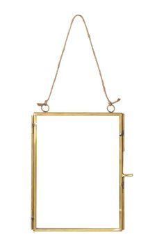 Metallinen valokuvakehys - Kulta - Home All | H&M FI