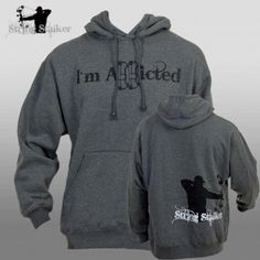 String Stalker Bow Hunting Addicted Hoodie Sweatshirt