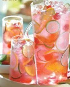 raspberry tequila sangria