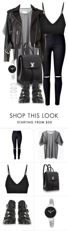 """""""Untitled #2536"""" by theeuropeancloset on Polyvore featuring Maison Margiela, For Love & Lemons, Givenchy, Christian Van Sant and Belk Silverworks"""