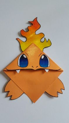 Handmade Charmander Style Bookmark More