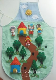 Gardening Tips & Information Articles Puppet Crafts, Felt Crafts, Crafts To Make, Crafts For Kids, Felt Diy, Handmade Felt, Handmade Crafts, Fairy Quiet Book, Quiet Book Templates