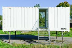 Mobile Sauna im Wechselkoffer / Container Mobiles, Mobile Sauna, Garage Doors, Container, Outdoor Decor, Home Decor, Homes, Decoration Home, Room Decor