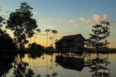House by the Amazon river #Brazil |  Photo By - Kuba Abramowicz