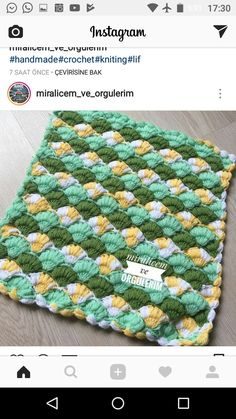 Crochet Cushions, Crochet Stitches, Diy And Crafts, Blanket, Tube, Bed Covers, Rugs, Tejidos, Dressmaking